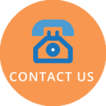 Phone icon with contact us text